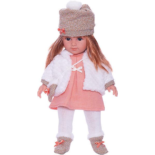 Llorens Кукла Llorens Елена в бело-оранжевом, 35 см