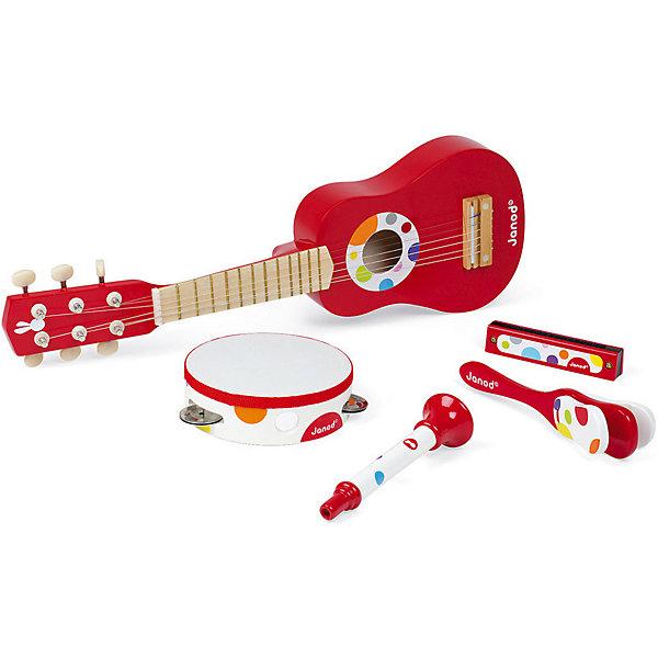 Janod Набор музыкальных инструментов Janod, музыкальные игрушки маша и медведь набор музыкальных инструментов gt5844
