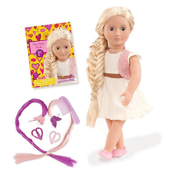 - Кукла Our Generation Фиби с растущими волосами, 46 см our generation dolls кукла эйприл 46 см our generation dolls