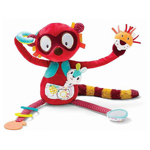 Купить Игрушка развивающая Lilliputiens Лемур Джордж , Китай, разноцветный, Унисекс