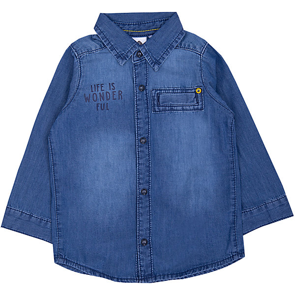 Z Джинсовая рубашка Z для мальчика джинсовая рубашка quelle arizona 610860