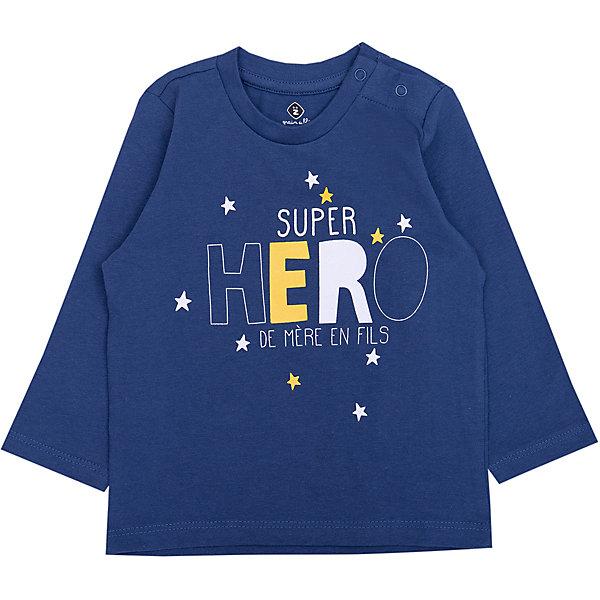 Фото - Z Футболка с длинным рукавом Z для мальчика комплект термобелья для мальчика norfin junior thermo line футболка с длинным рукавом брюки цвет черный 308101 размер 170