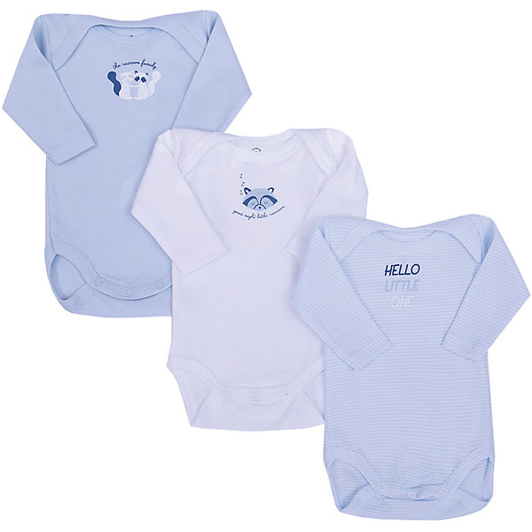 Z Боди, 3 шт. Z для мальчика боди для мальчика spasilk цвет белый голубой зеленый 4 шт on s4hs2 размер xxl 18 месяцев