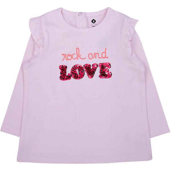 Z Футболка с длинным рукавом Z для девочки bonpoint хлопковая бледно розовая футболка