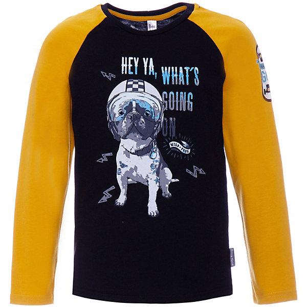 Купить Футболка с длинным рукавом Bossa Nova для мальчика, Россия, желтый, 128, 116, 134, 110, 122, 104, Мужской