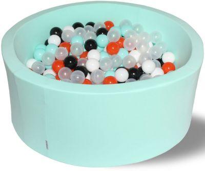 Сухой игровой бассейн Hotenok  Ночное сияние  40 см, 250 шариков, артикул:9633748 - Детская площадка
