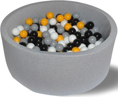 Сухой игровой бассейн Hotenok  Жёлтая роза  30 см, 200 шариков, артикул:9633750 - Детская площадка
