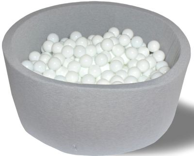 Сухой игровой бассейн Hotenok  Первый снег  40 см, 200 шариков, артикул:9633764 - Детская площадка