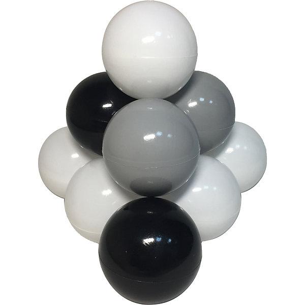 Купить Комплект шариков для сухого бассейна Hotenok Ночное небо 100 шт, 3 цвета, Россия, разноцветный, Унисекс