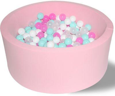 Сухой игровой бассейн Hotenok  Розовая мечта  40 см, 200 шариков, артикул:9633772 - Детская площадка