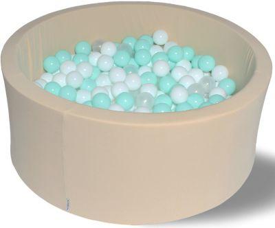 Сухой игровой бассейн Hotenok  Ванилька  40 см, 200 шариков, артикул:9633776 - Детская площадка