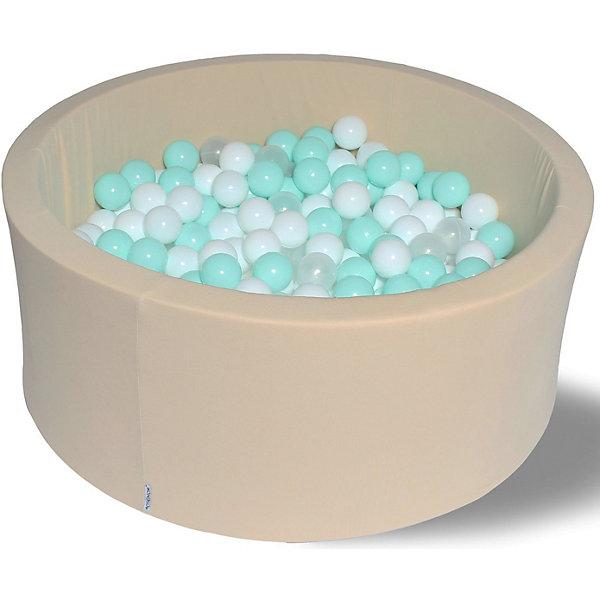 Hotenok Сухой игровой бассейн Ванилька 40 см, 200 шариков