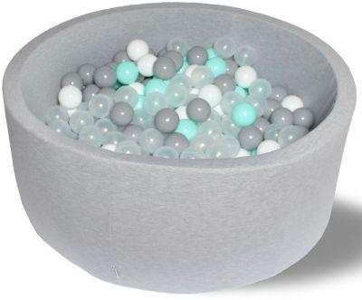 Сухой игровой бассейн Hotenok  Волна  40 см, 200 шариков, артикул:9633784 - Детская площадка