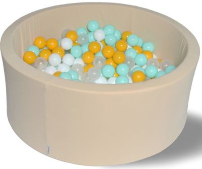 Сухой игровой бассейн Hotenok  Ванильная дискотека  40 см, 200 шариков, артикул:9633786 - Детская площадка