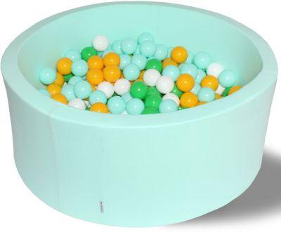 Сухой игровой бассейн Hotenok  Счастливое лето  40 см, 200 шариков, артикул:9633790 - Детская площадка
