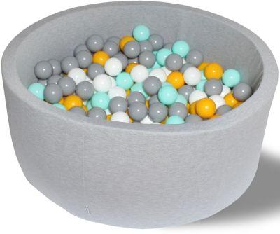 Сухой игровой бассейн Hotenok  Цветомузыка  40 см, 200 шариков, артикул:9633794 - Детская площадка
