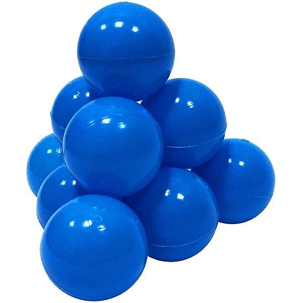 Hotenok Шарики для сухого бассейна Hotenok 50 шт, 7 см, голубые шарики для сухого бассейна pilsan шарики для сухого бассейна 100 штук 9 см пакете сумке