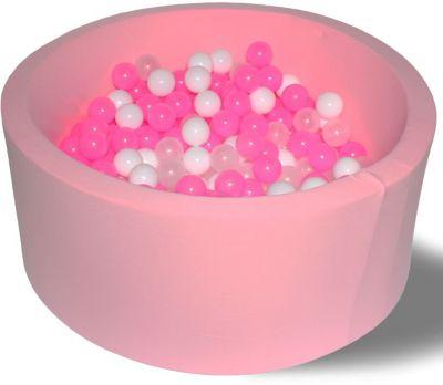 Сухой игровой бассейн Hotenok  Сияние  40 см, 200 шариков, артикул:9633804 - Детская площадка