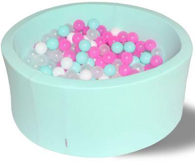 Сухой игровой бассейн Hotenok  Клубничное мороженое  40 см, 200 шариков, артикул:9633810 - Детская площадка