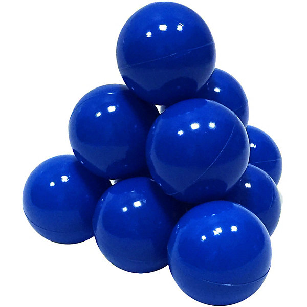 Hotenok Шарики для сухого бассейна Hotenok 50 шт, 7 см, синие шарики для сухого бассейна pilsan шарики для сухого бассейна 100 штук 9 см пакете сумке
