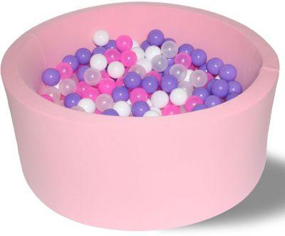 Сухой игровой бассейн Hotenok  Фиолетовые пузыри  40 см, 200 шариков, артикул:9633824 - Детская площадка