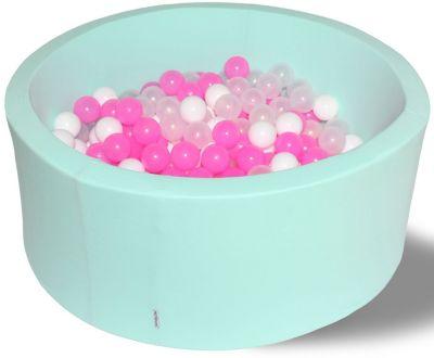 Сухой игровой бассейн Hotenok  Коктейль  40 см, 200 шариков, артикул:9633834 - Детская площадка