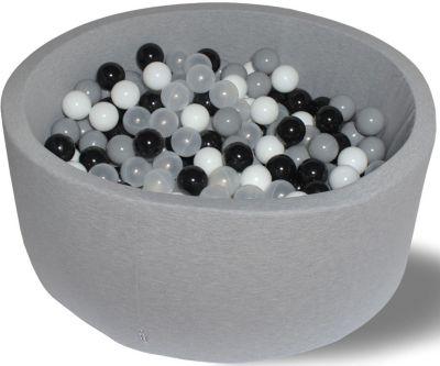 Сухой игровой бассейн Hotenok  Морская пена  30 см, 200 шариков, артикул:9633838 - Детская площадка