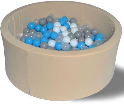 Сухой игровой бассейн Hotenok  Брызги на песке  40 см, 200 шариков, артикул:9633848 - Детская площадка