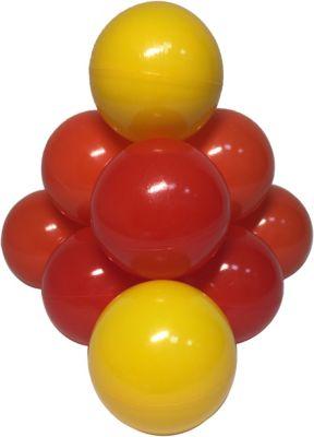 Комплект шариков для сухого бассейна Hotenok  Солнечный  100 шт, 3 цвета, артикул:9633850 - Детская площадка