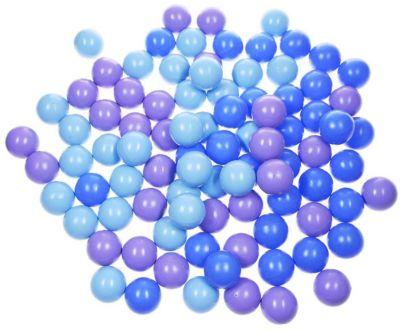 Комплект шариков для сухого бассейна Hotenok  Ночное небо  100 шт, 3 цвета, артикул:9633860 - Детская площадка