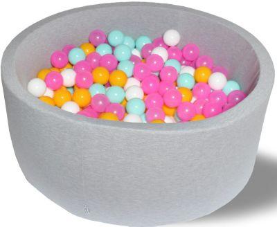 Сухой игровой бассейн Hotenok  Радужный  40 см, 200 шариков, артикул:9633862 - Детская площадка