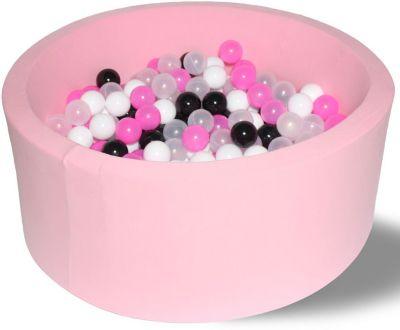 Сухой игровой бассейн Hotenok  Розовая пантера  40 см, 200 шариков, артикул:9633888 - Детская площадка