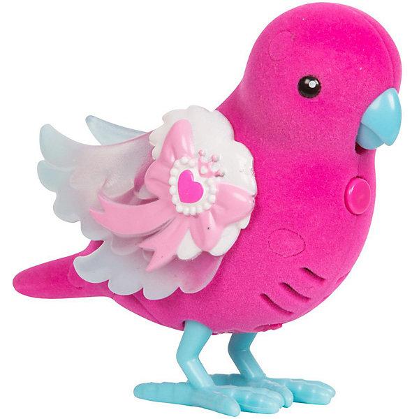 Купить Интерактивная птичка Moose Little Live Pets Сияющий бантик, со светящимися крылышками, Китай, розовый, Унисекс