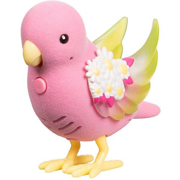 Купить Интерактивная птичка Moose Little Live Pets Яркий Цветок, со светящимися крылышками, Китай, розовый, Унисекс