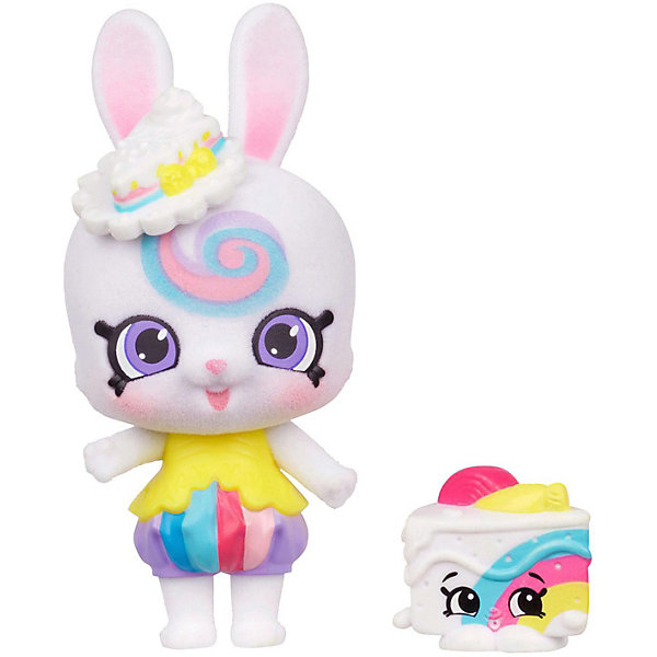 Moose Игровая фигурка Moose Shoppet + Shopkins Банни Боу фигурки pavone фигурка девушка pavone