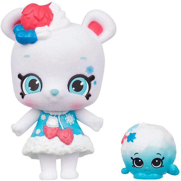 Moose Игровая фигурка Moose Shoppet + Shopkins Сноу Фро фигурки pavone фигурка девушка pavone