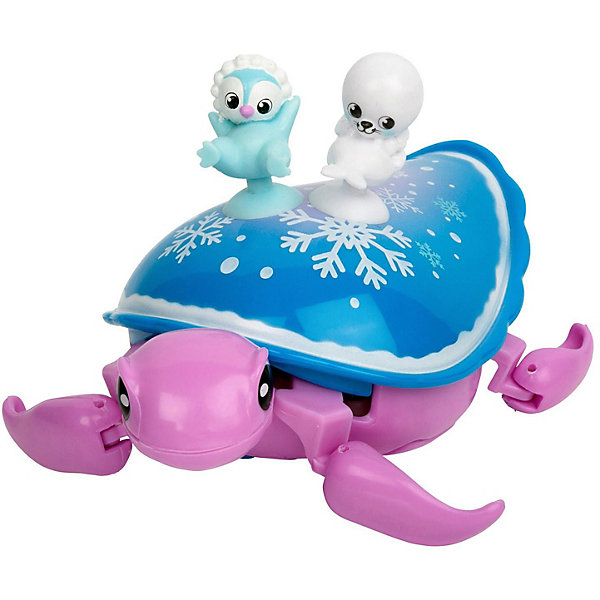 Купить Интерактивная черепашка Moose Little Live Pets Снежный бриз и друзья, Китай, темно-синий деним, Унисекс