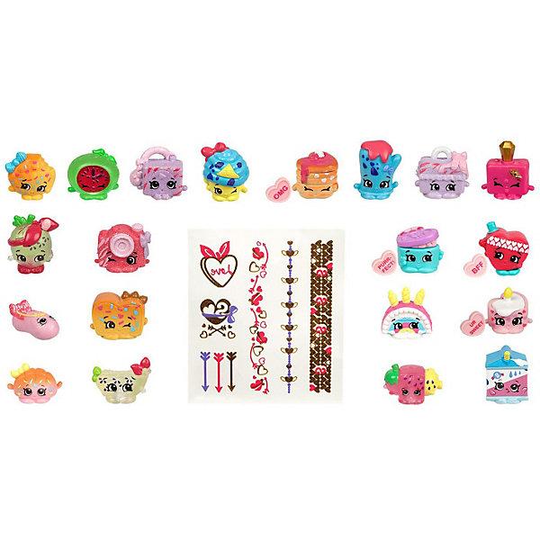 Купить Мега набор фигурок Moose Shopkins , 20 шт., Китай, розовый, Женский