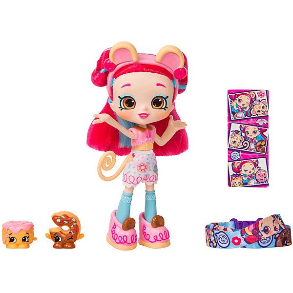 Кукла Shoppies - Донатина, Moose, Китай, розовый, Женский  - купить со скидкой