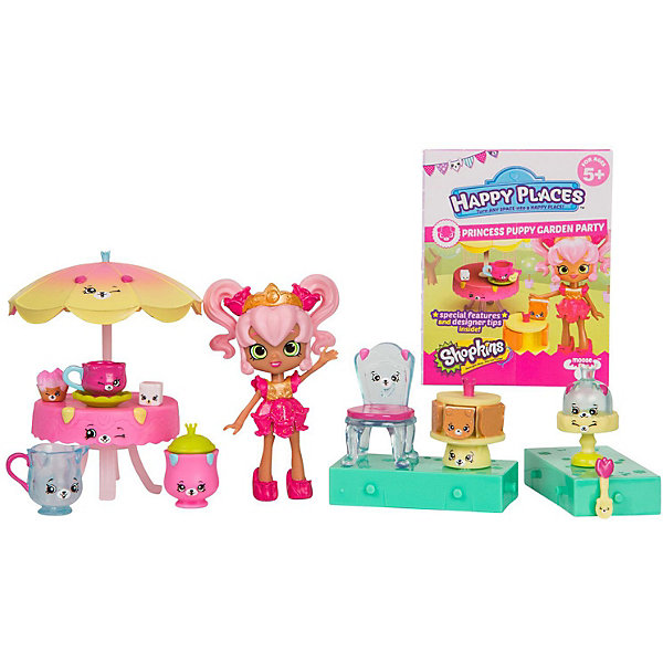 Moose Игровой набор Moose Shopkins Happy Places Новоселье. Вечеринка принцессы в саду с щеночками cnc 3040 cnc router cnc machine 3 4 5 axis mini engraving machine woodworking tools diy hy 3040 high quality metal acrylic