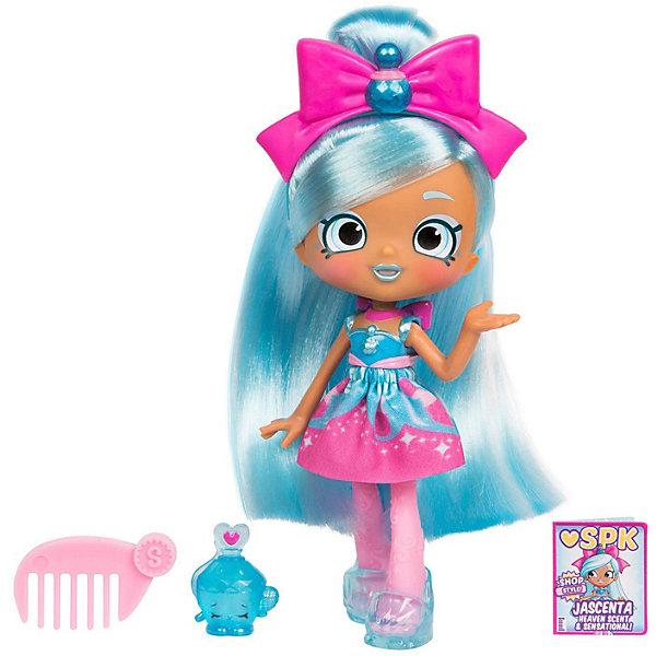 Купить Мини-кукла Moose Shopkins Shoppies Джасента, 14 см, Китай, синий, Женский