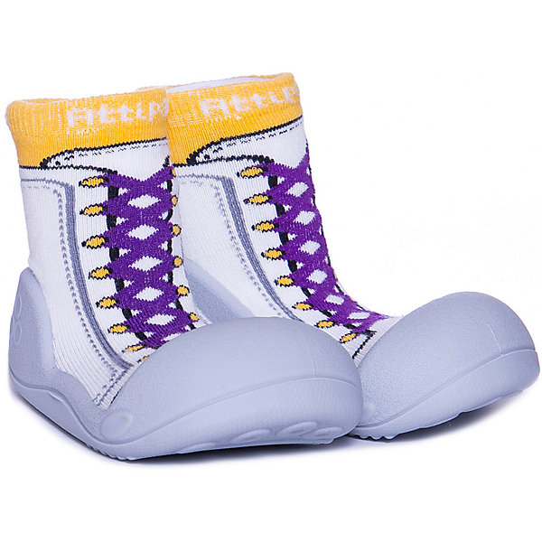Attipas Тапочки Attipas New Sneakers igrobeauty тапочки махровые открытый мыс белые на нескользящей подошве спанбонд очка