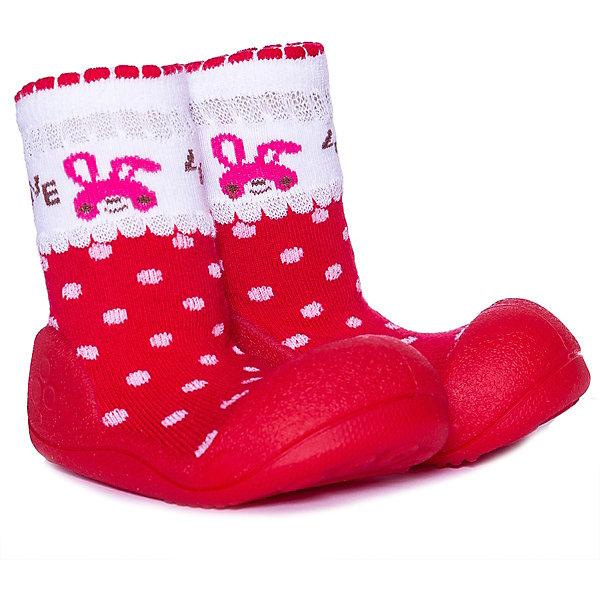 Купить Тапочки Attipas Love для девочки, Корея, красный, 19, 21.5, 22.5, 20, Женский