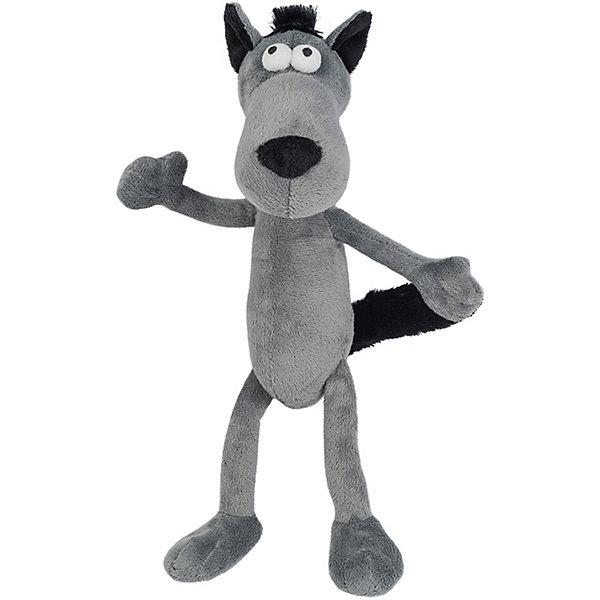 Купить Мягкая игрушка Гнутики Волчок-Серый Бочок , ДуRашки, Китай, разноцветный, Унисекс