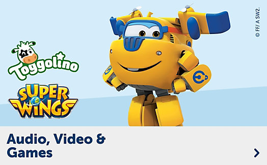 Super Wings Audio, Video & Games