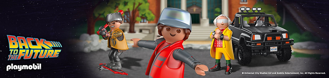 PLAYMOBIL® Back to the future