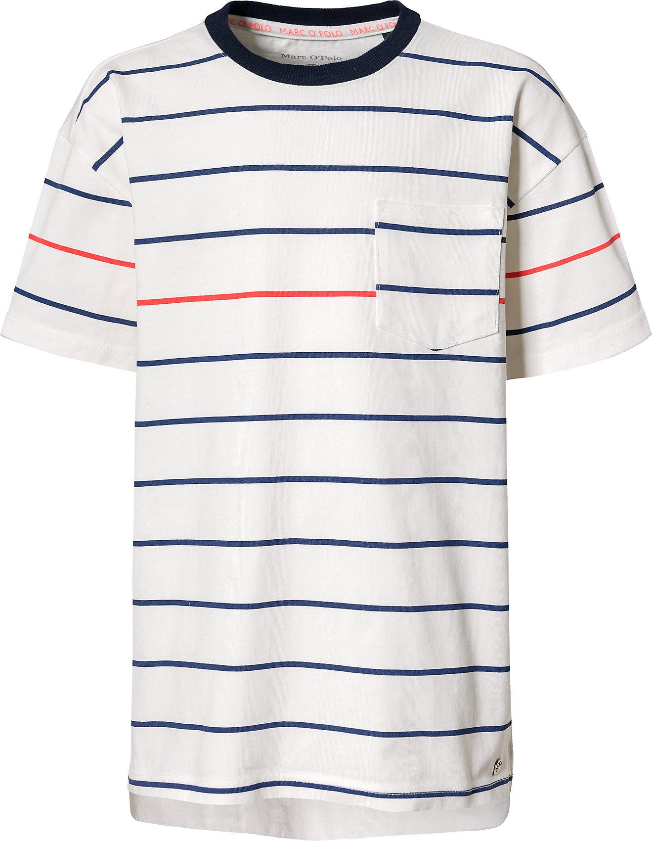 0e95b34787e6fe ... und mit reinem Baumwollanteil präsentiert sich dieses lässig gestaltete MARC  O'POLO T-Shirt für Jungen. Ärmellänge: kurzärmlig Material: 100% Baumwolle