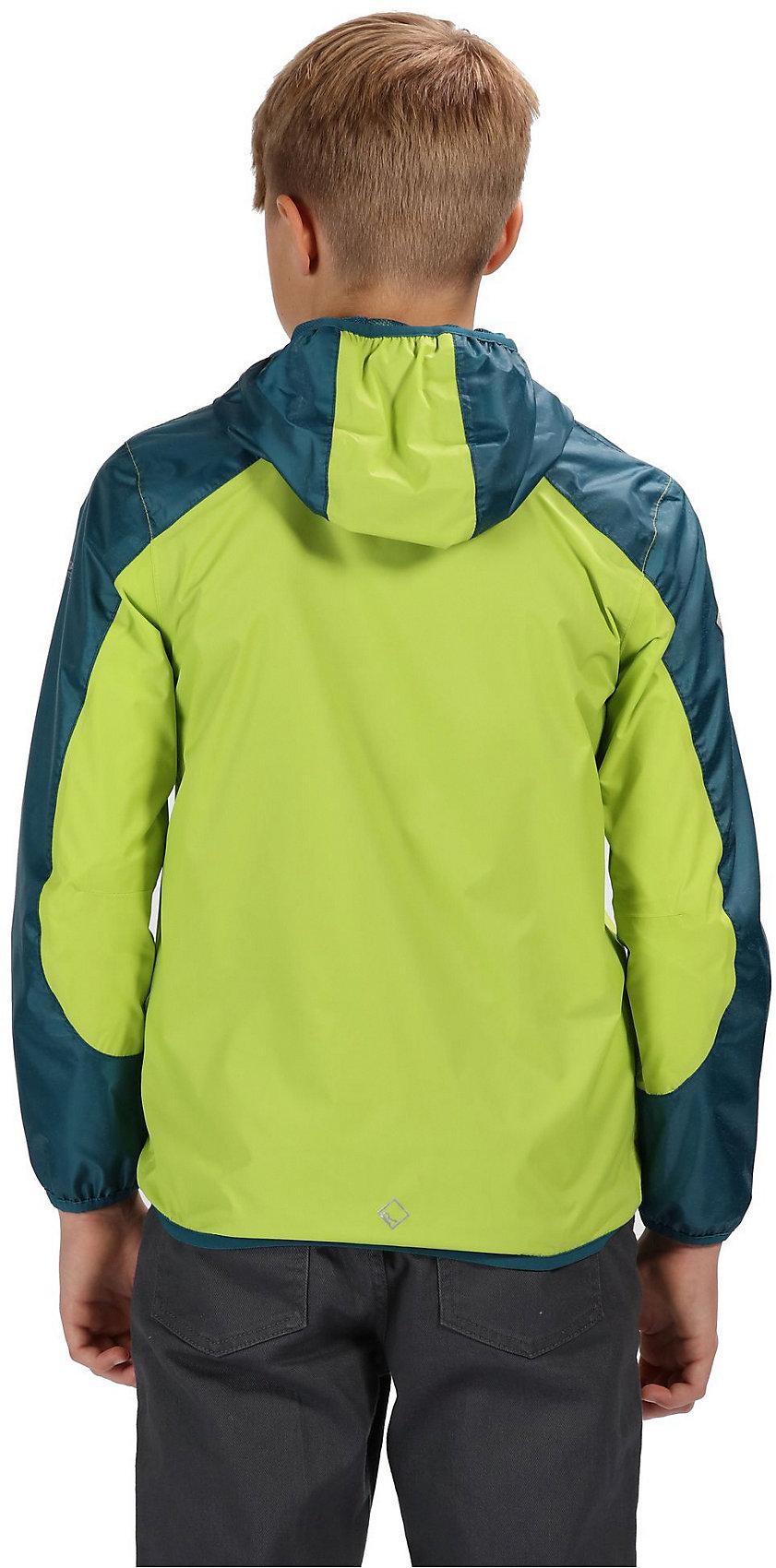 sports shoes e2f59 4ece2 Details zu Neu Regatta Kinder Regenjacke TEEGA 10197920 für Jungen und  Mädchen