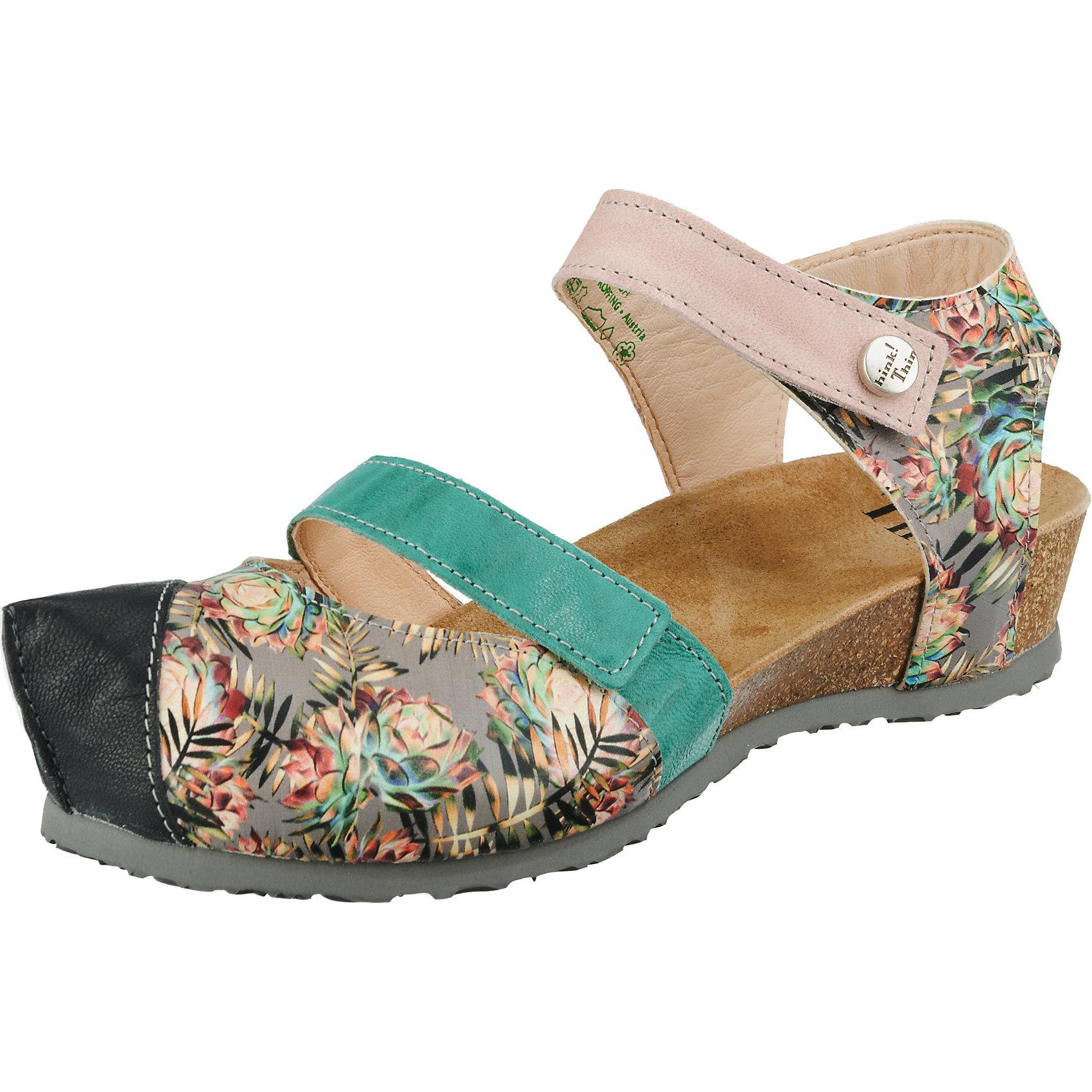 Neu Think  Kessy Klassische Klassische Klassische Sandalen 10230415 für Damen bunt 3ea040