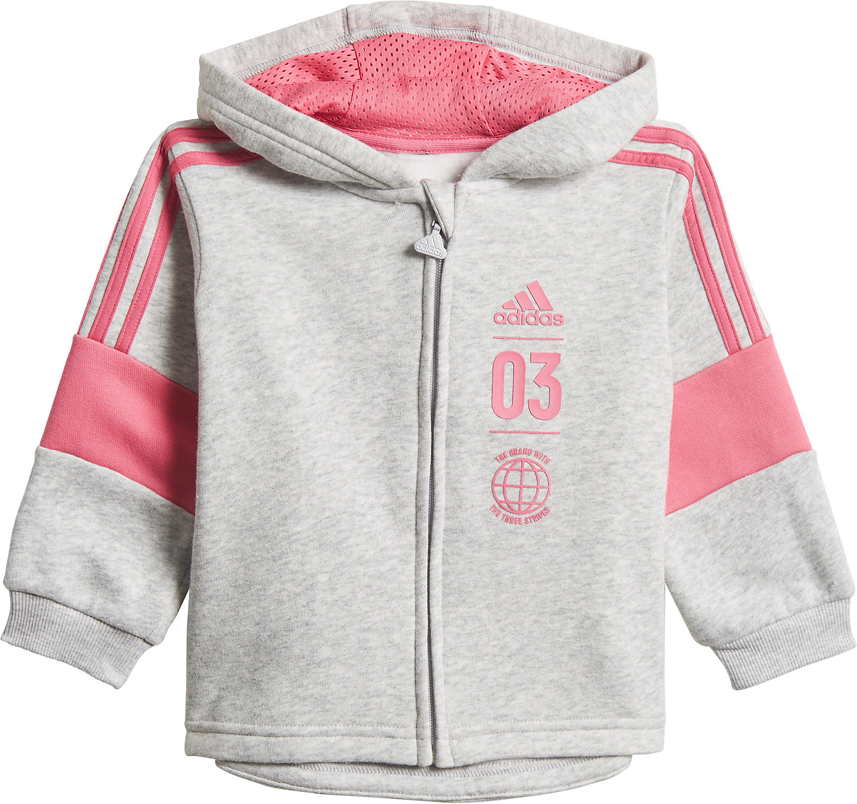 Details zu Neu adidas Performance Baby Jogginganzug LOGO FZHD für Jungen 10287114